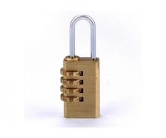 Numeric Brass Padlock - Small