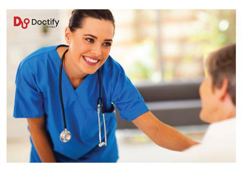 Hiring of experience Nurse in Hospital